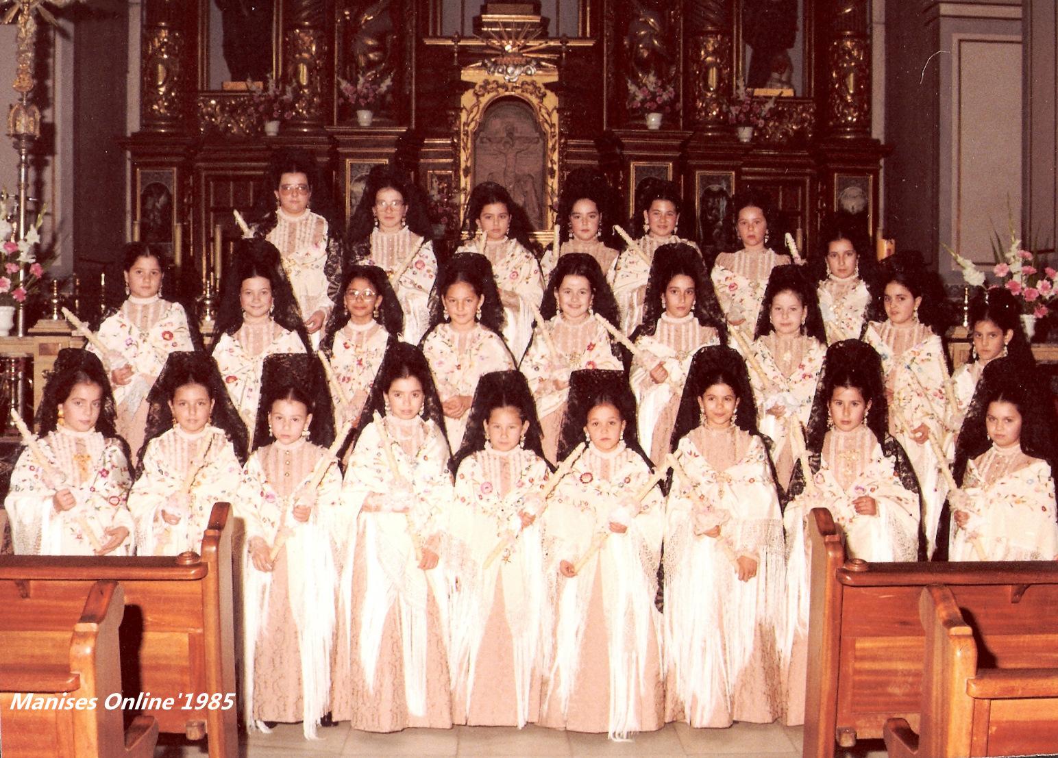 02.02.17 LA FIESTA DE LA CANDELARIA EN MANISES, EN EL AÑO 1985