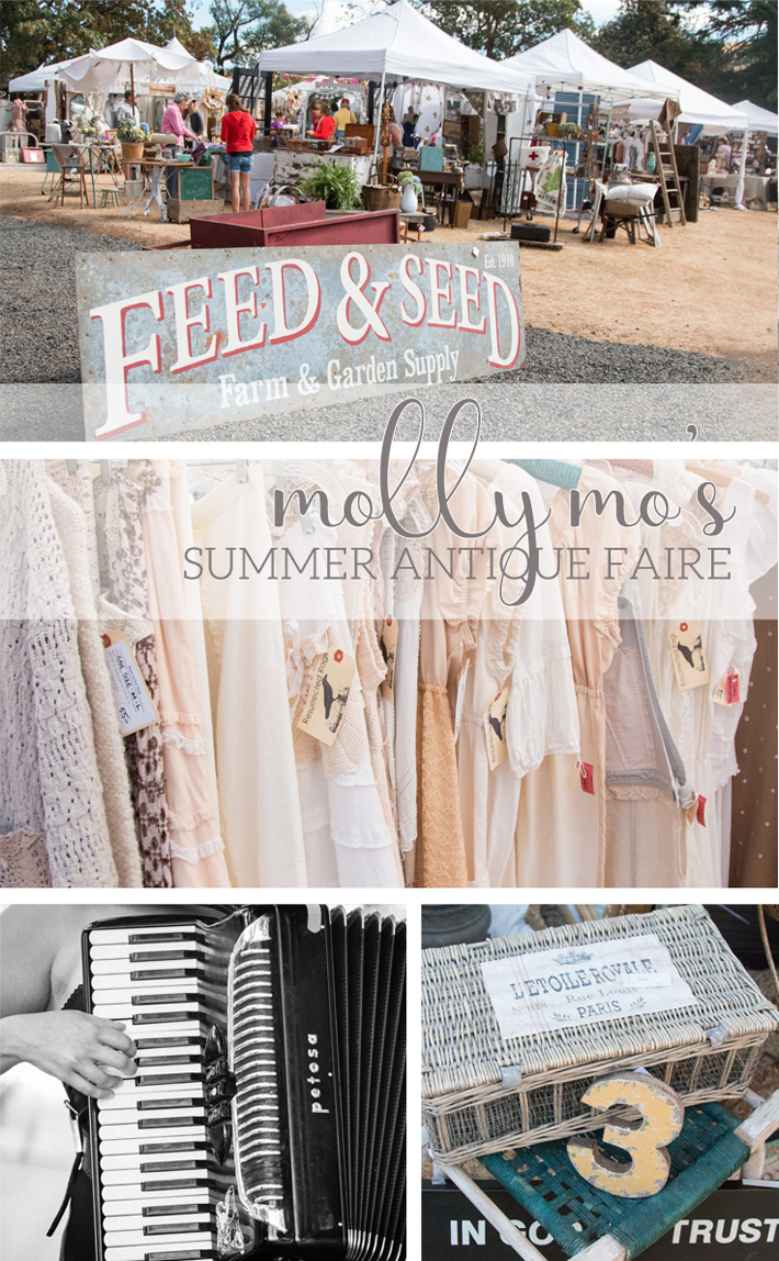 Molly Mos Summer Antique Faire photos by @createoften