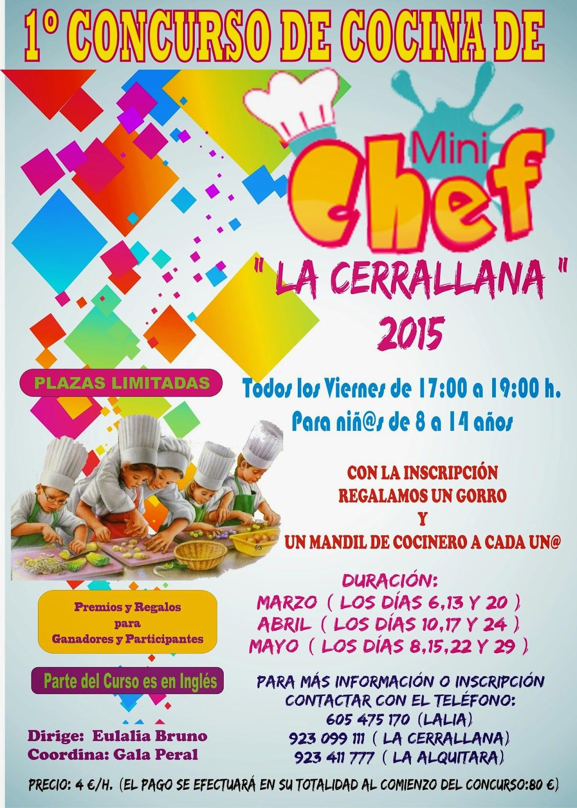 Restaurante cafeter a la cerrallana concurso de cocina - Concurso de cocina ...