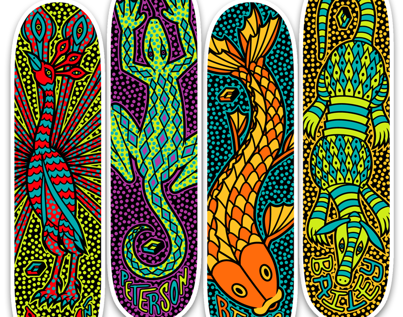 JP Flexner // Creative Services: Consolidated Skateboards, Oaxacan ...
