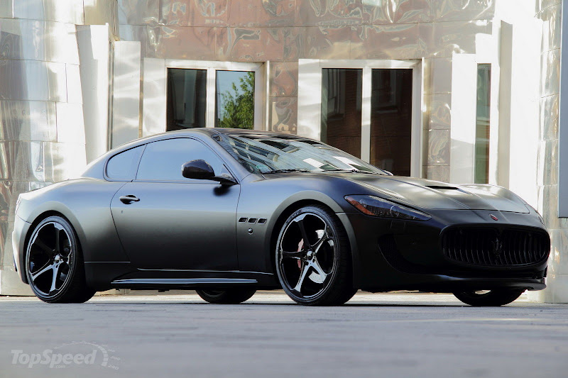 Maserati GranTurismo S Superior Black Edition Anderson Germany