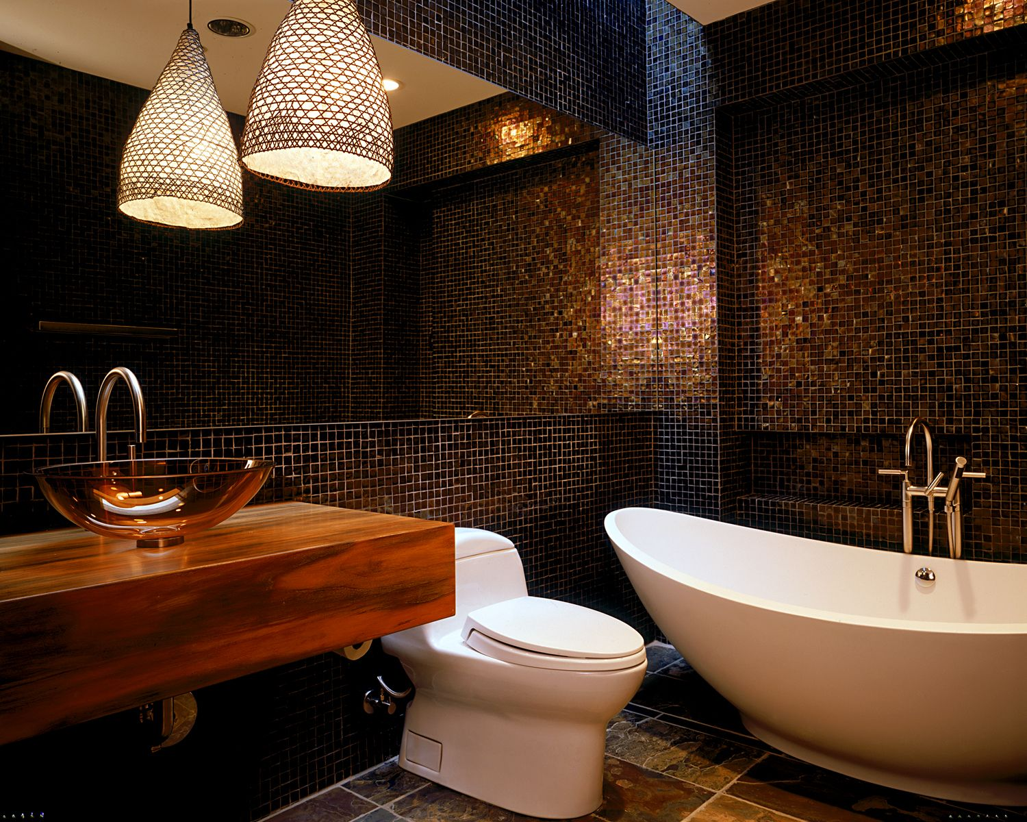 Mosaic Tile Bathroom Ideas