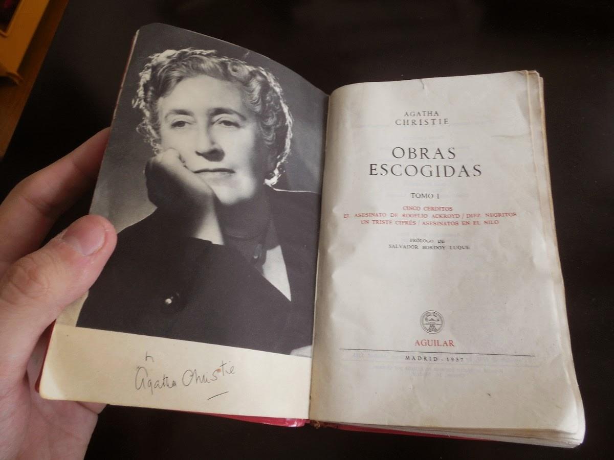 """""""Diez negritos"""" obras escogidas Tomo I - Agatha Christie."""