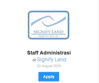 lowongan kerja staff admin sma/smk agustus 2015