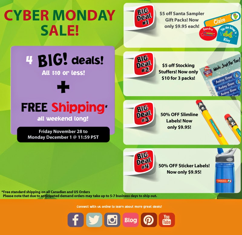 Lovable Labels Cyber Monday Weekend