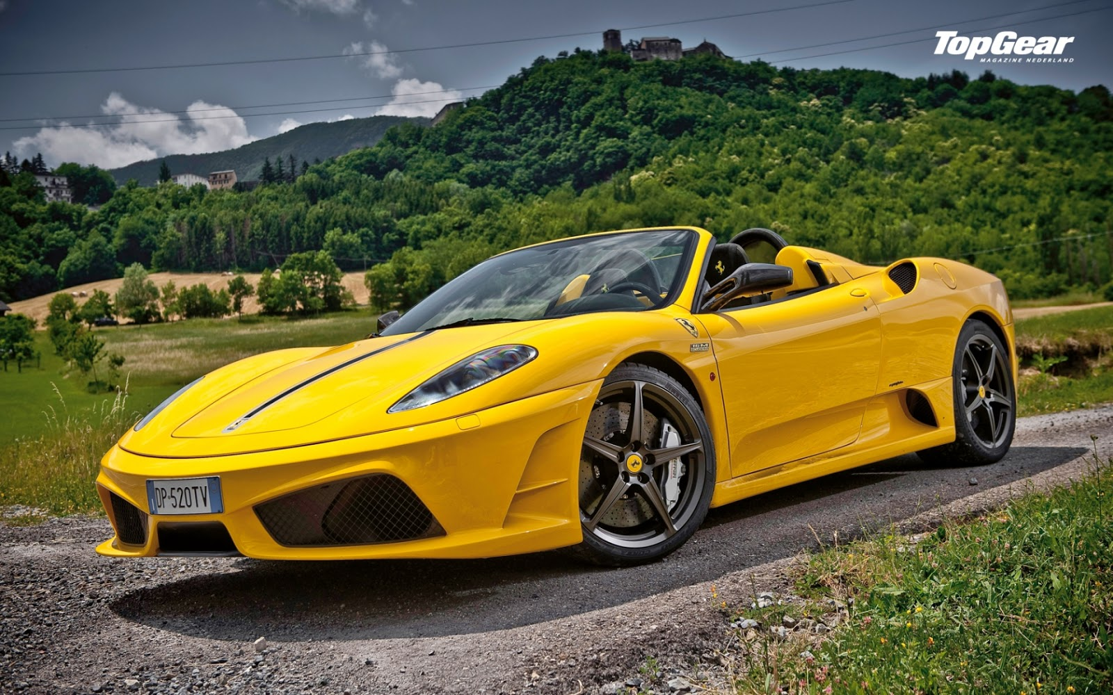 Yellow Ferrari F430 Scuderia Spider Wallpapers Hd High Definitions