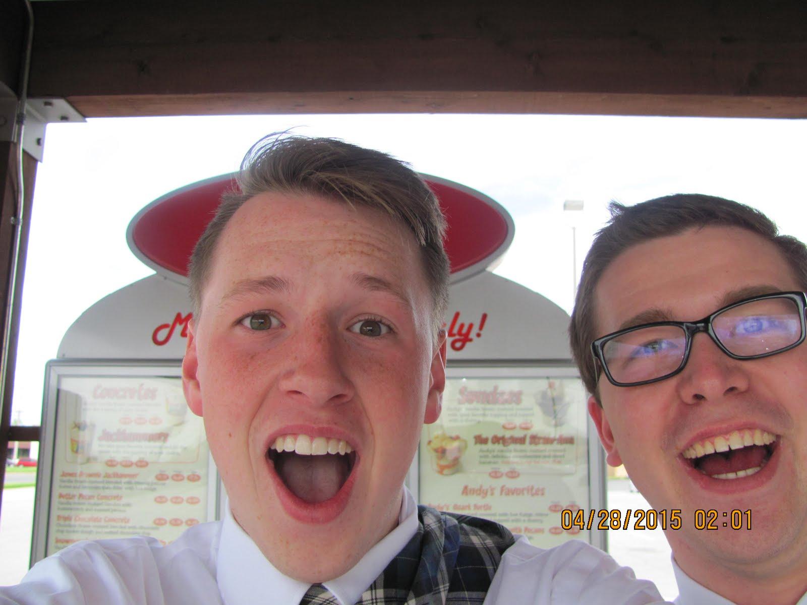 Elder Gehring & me