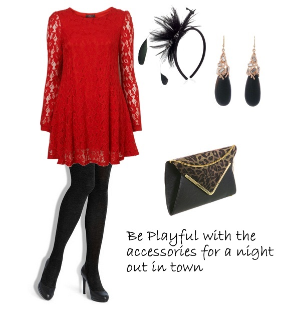 Dinner Party Dress Ideas Part - 34: Style-Delights: How To Style A Red Lace Dress : Holiday Party Outfit Ideas