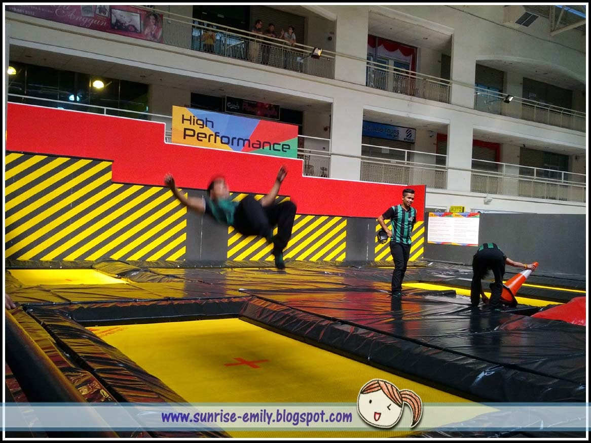 Fitness In Fun Jump Streets Trampoline Park Penang