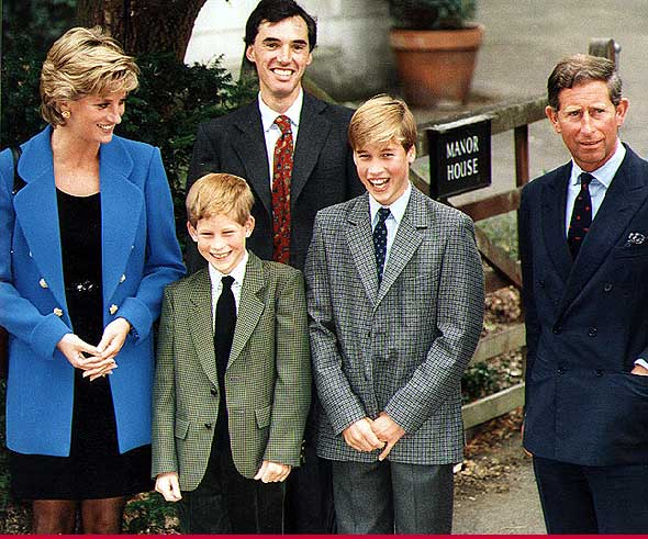 prince william and harry dianaprince william harry