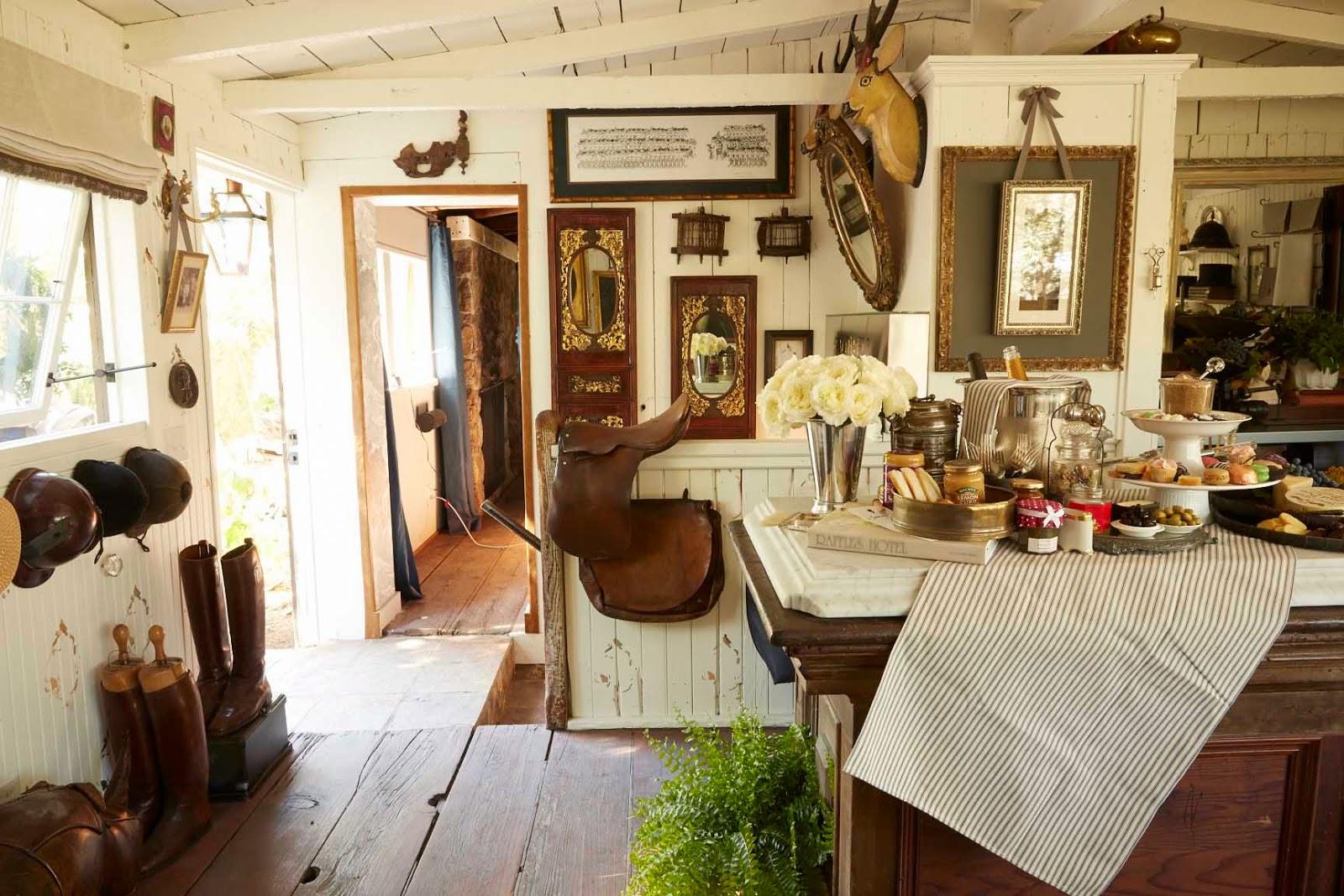 The Style Saloniste Positively British San Francisco Interior Designer Jonathan Rachman Transforms A Napa Valley Farmhouse Into An Evocative Retreat With
