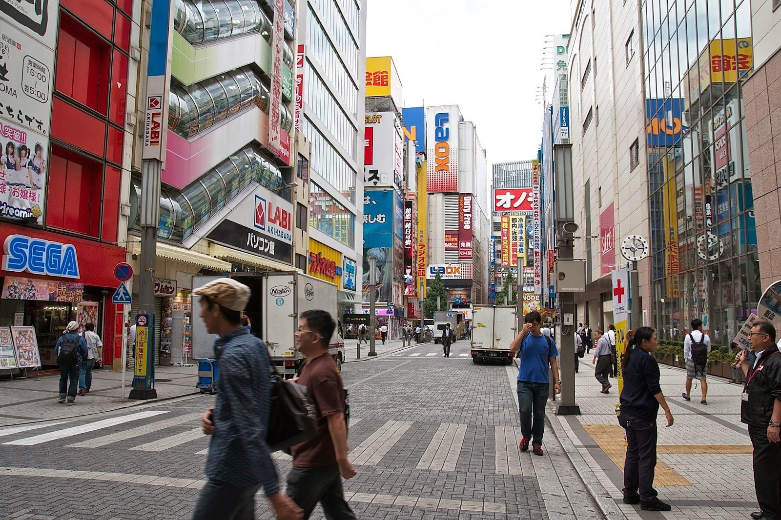 LA RUTA NIPONA: TOKIO (IV) - AKIHABARA (DAME TU FUERZA PEGASO)