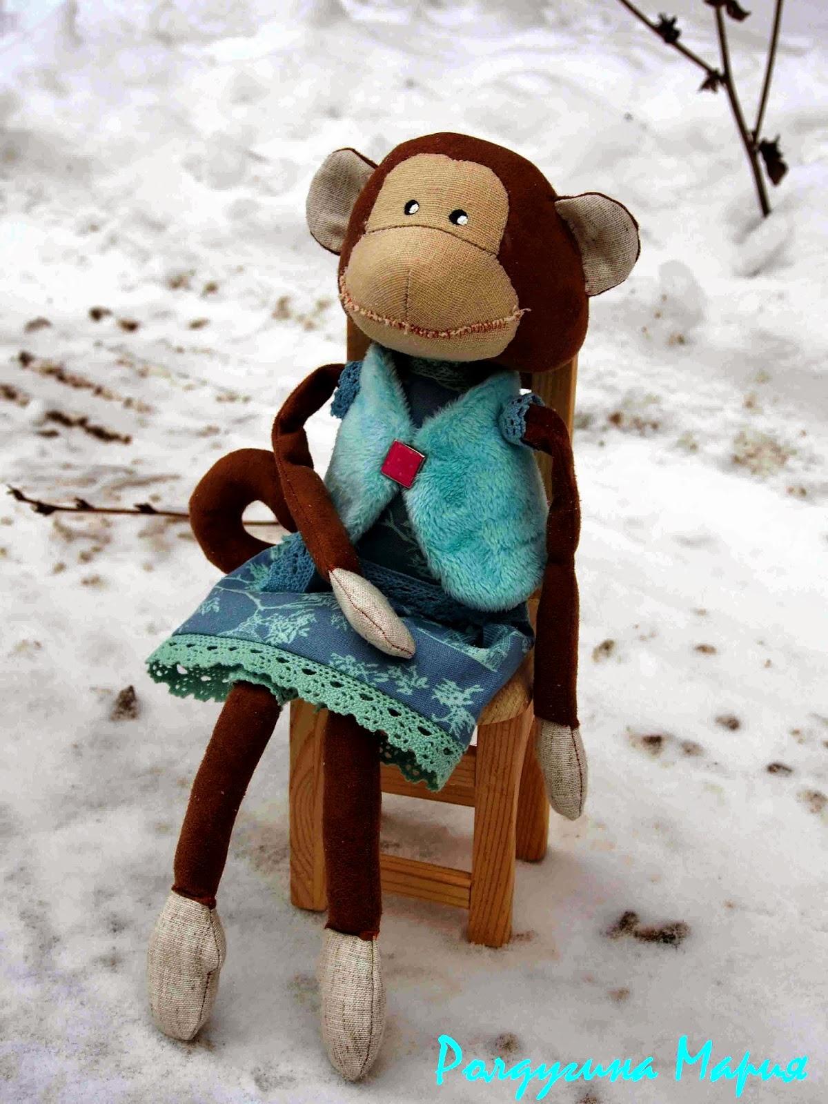 обезьяна игрушка