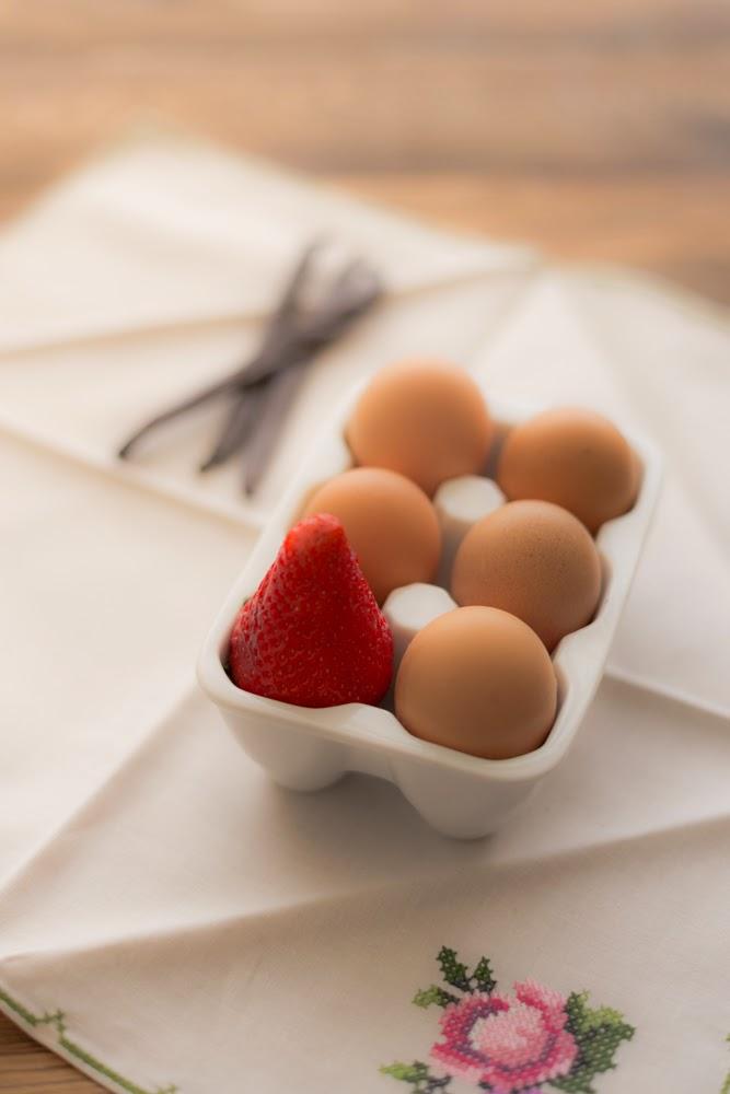 Huevos, Fresa