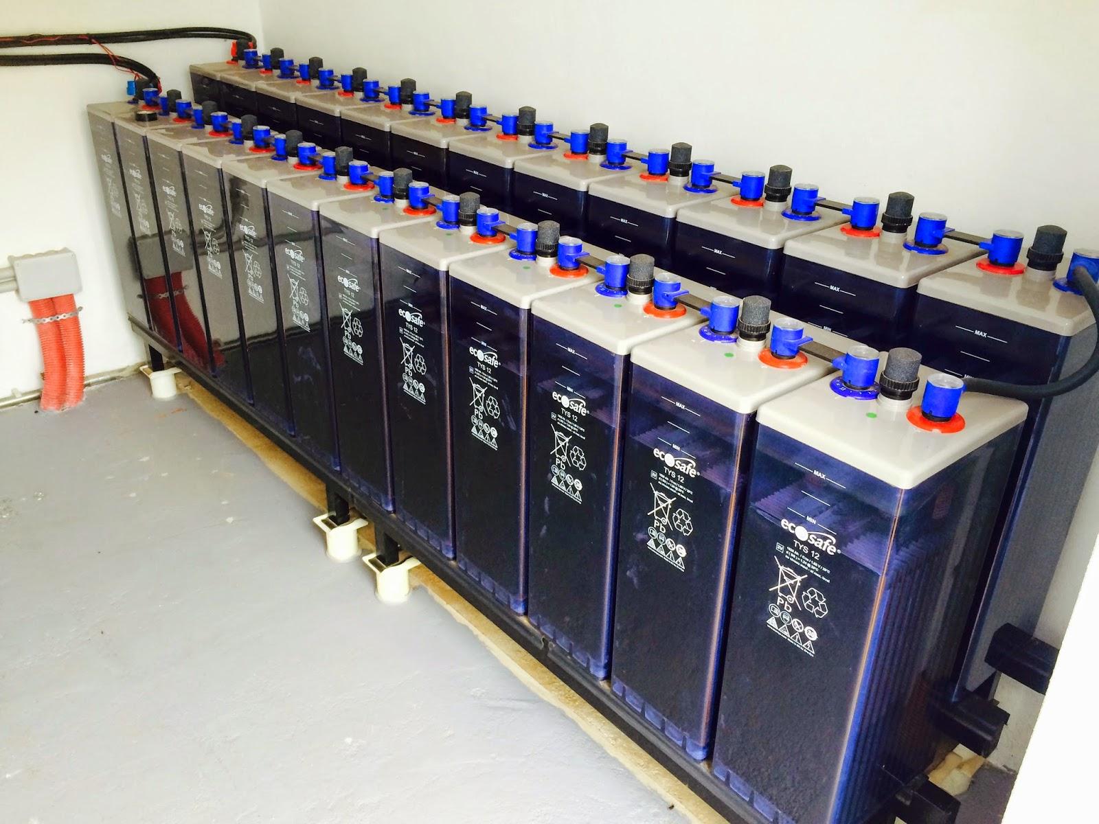Baterias industriales gandia s l instalacion energia for Baterias placas solares