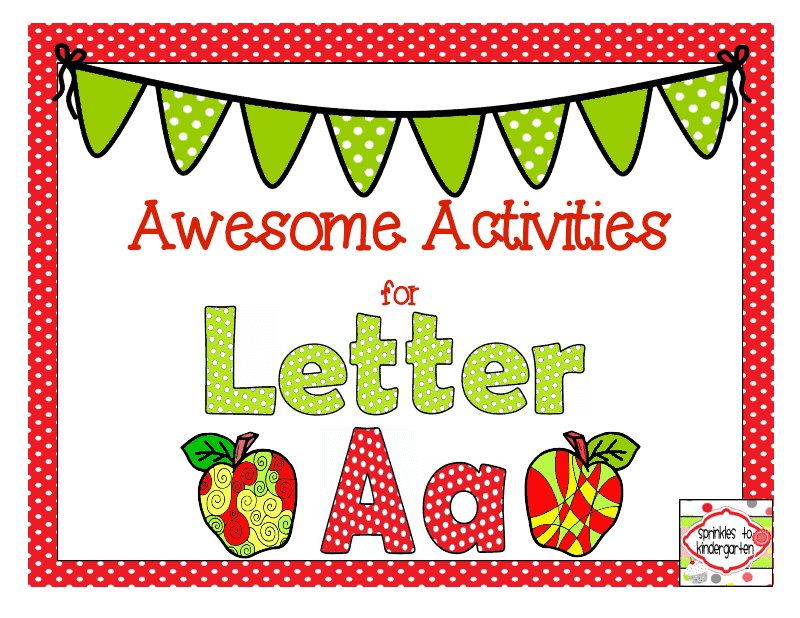 http://www.teacherspayteachers.com/Product/Awesome-Activities-for-Letter-Aa-Aa-Activities-1306714