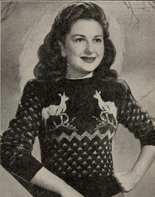 Reindeer Sports Jumper