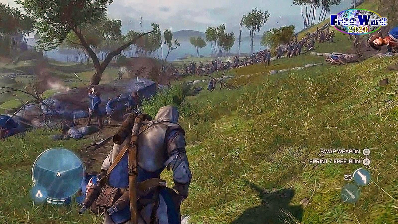 تحميل لعبة Assassin's Creed 3 مجاناً