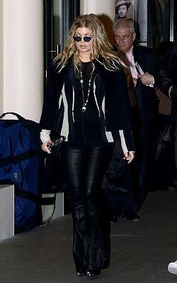 Fergie pregnant 2013
