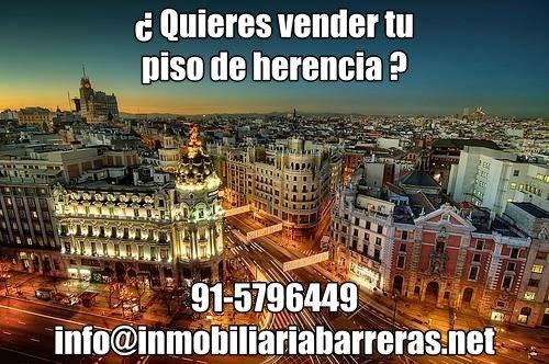 Vender pisos o inmuebles herencia en Madrid con nosolopisos.es