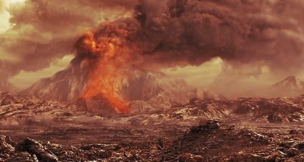 Descobertos vulcões ativos em Vénus
