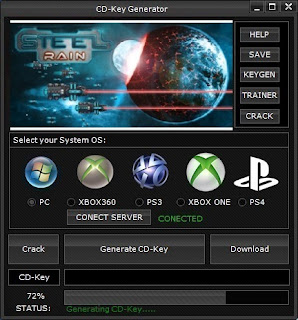 Steel Rain CD Key Generator (Free CD Key)