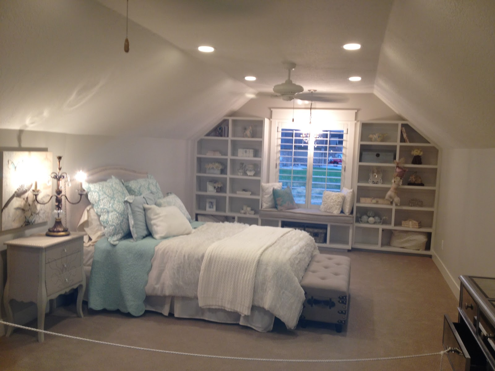 Love of homes decorated girl bedrooms parade of homes for Upstairs bedroom ideas
