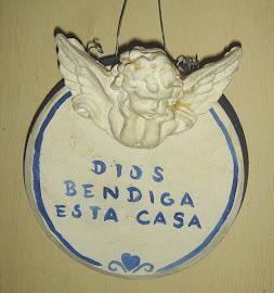 DIOS BENDIGA ESTA CASA