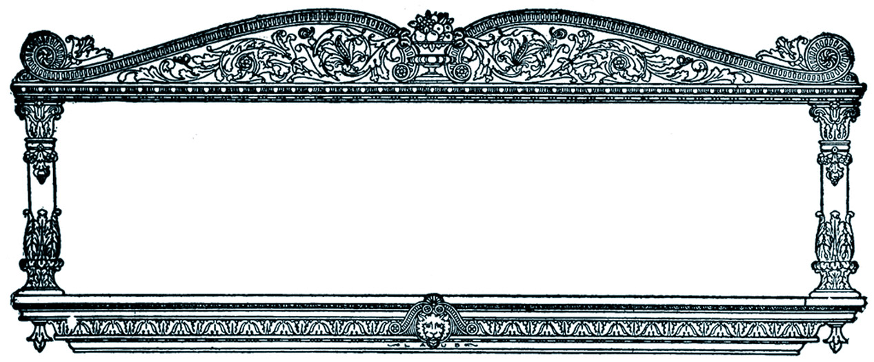 free clipart ornate frames - photo #17