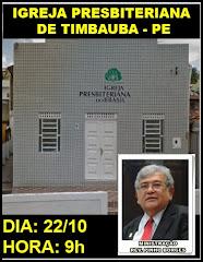22.10.2017 - IPB DE TIMBAÚBA