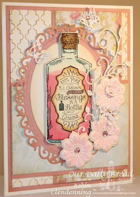 ODBD die sets: Apothecary Bottles; Ornate Borders and Flowers