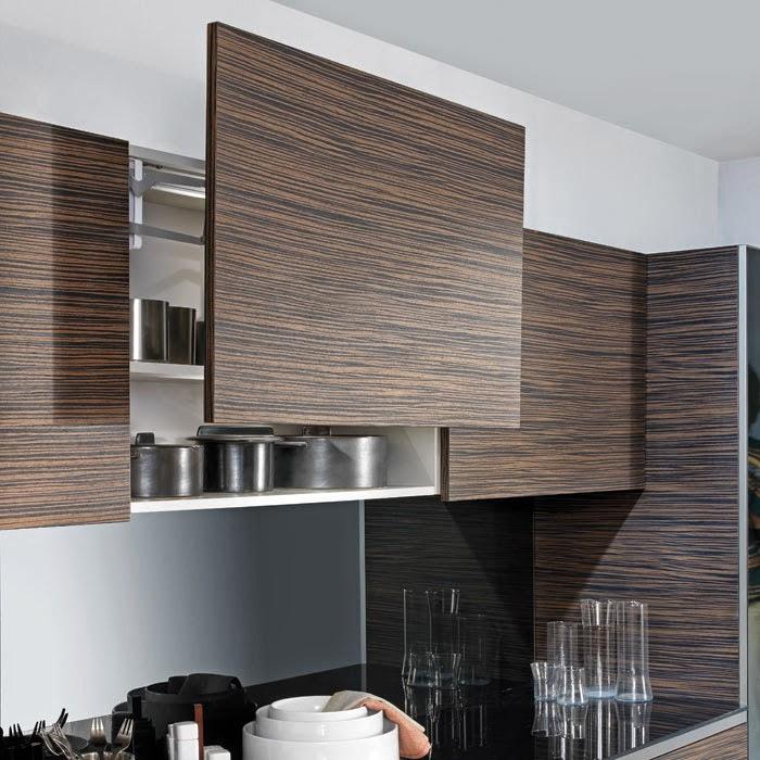 Sistemas de apertura para muebles altos por cu l for Muebles de cocina hasta el techo