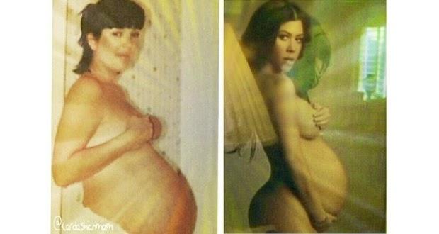 Kourtney Kardashian hamil