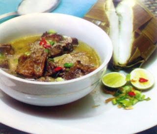 Masakan Coto Makassar