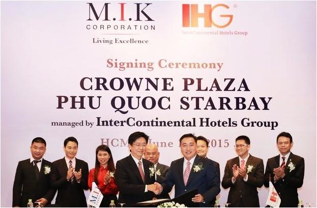 M.I.K Corporation cho ra mắt dự án Crowne Plaza đầu tiên tại Phú Quốc