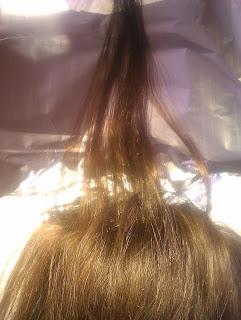 El aceite del lino lavar el tinte para los cabellos