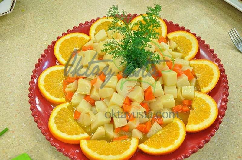 Portakallı Küp Kereviz Tarifi