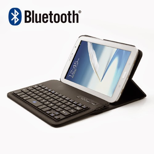 360 Degree Rotating Bluetooth Keyboard Leather Case for Samsung Galaxy Note 8.0 N5100 N5110