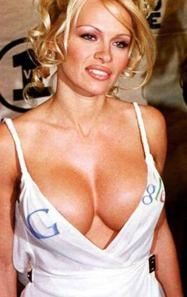 Pamela Anderson y Google