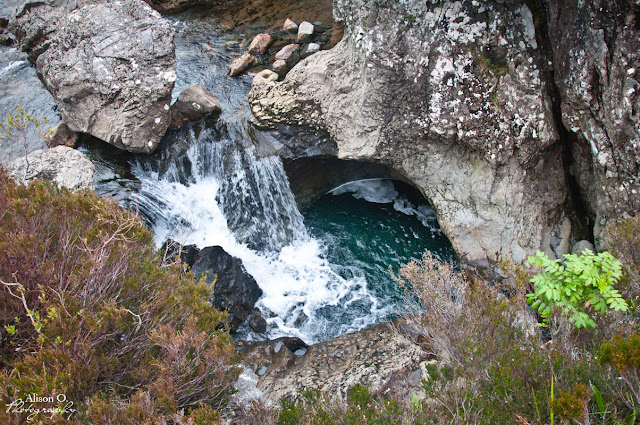 Fairy pools Isle of Skye Scotland Écosse