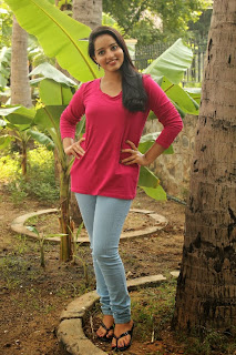 Acress Malavika Menon Pictures in Jeans at Vizha Movie Press Meet  0032.jpg