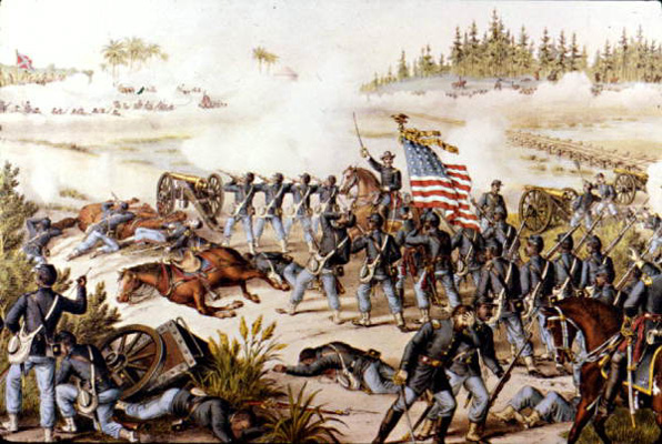 The battle of olustee part two the battle intensifies
