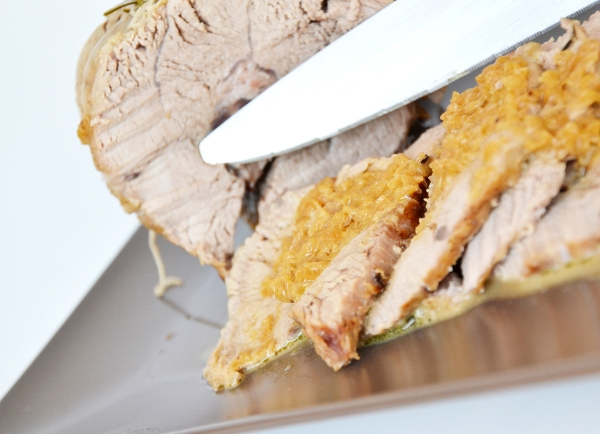 arrosto di vitello con panna, curry e marsala