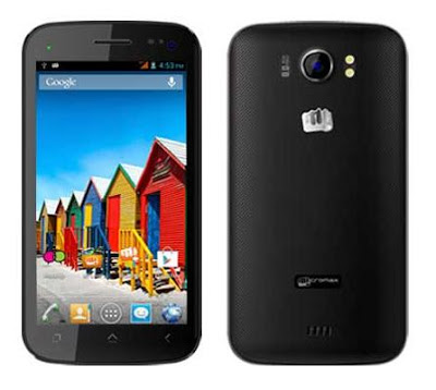 Micromax A110Q Canvas 2 Plus White Front & Back Images & Photos Review