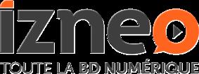 Logo Izneo.com: lecture numérique de BD, en ligne