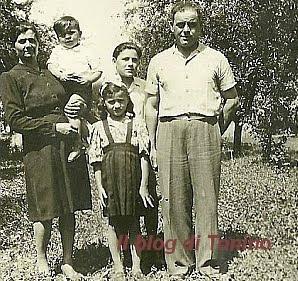Famiglia Tosatti di Nonantola - anni '40