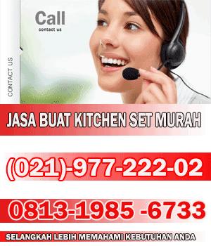 Jasa pembuatan kitchen set minimalis di jakarta jual for Buat kitchen set sendiri