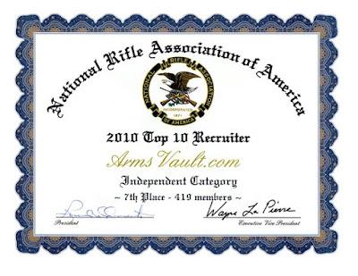 TOP 10 NRA Recruiter