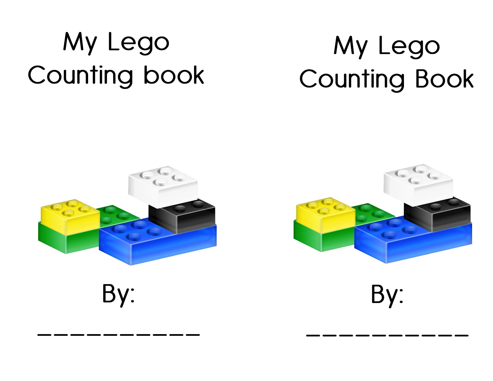 LEGO Activity Sheets http://thecrazypre-kclassroom.blogspot.com/2012/02/75-ways-to-learn-with-legos.html