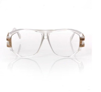 CLEAR VINTAGE CAZAL INSPIRED GLASSES
